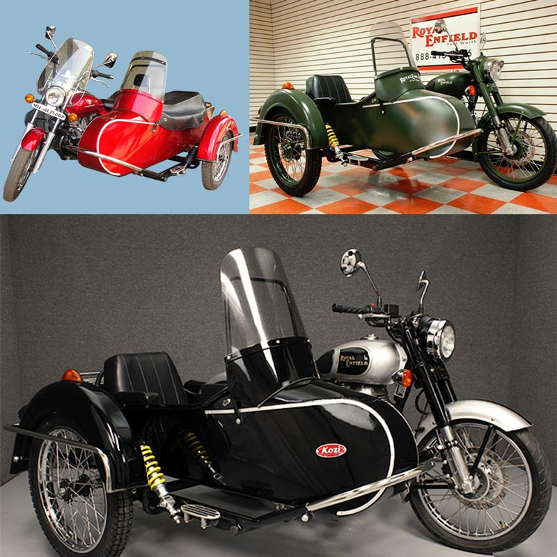 Euro Sidecar For Motorcycle Image
